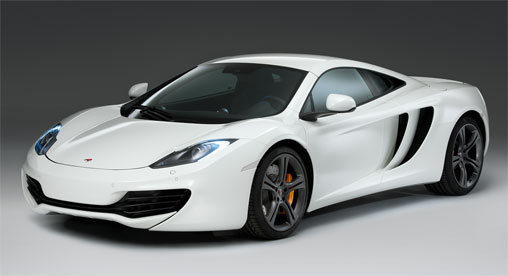 luxury garage for McLaren MP4-12C