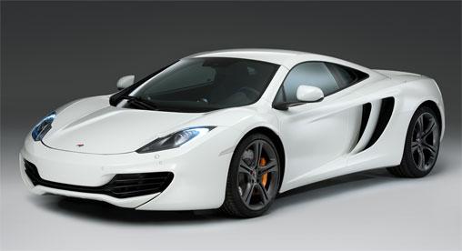 luxury garage for McLaren MP4-12C