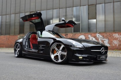 Luxury Car Mercedes-SLS-AMG-Black