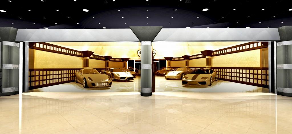 Garagemahals Industrial Themed Garage Garagemahals