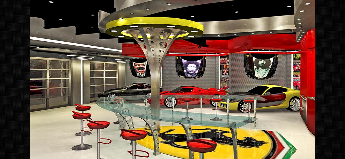 Garagemahals Ferrari Custom Garage Garagemahals