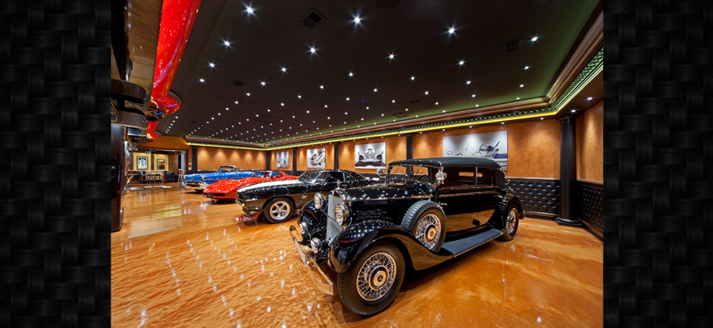 Custom car garage images galleries for Garage tony auto