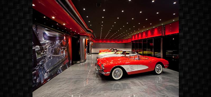 Luxury Car Garage Garagemahals muscle car garage